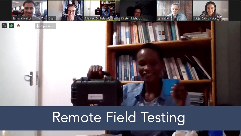 WaterScope_Remote Field Testing