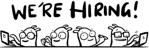 WaterScope hiring cartoon