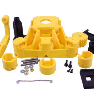waterscope yellow microscope parts