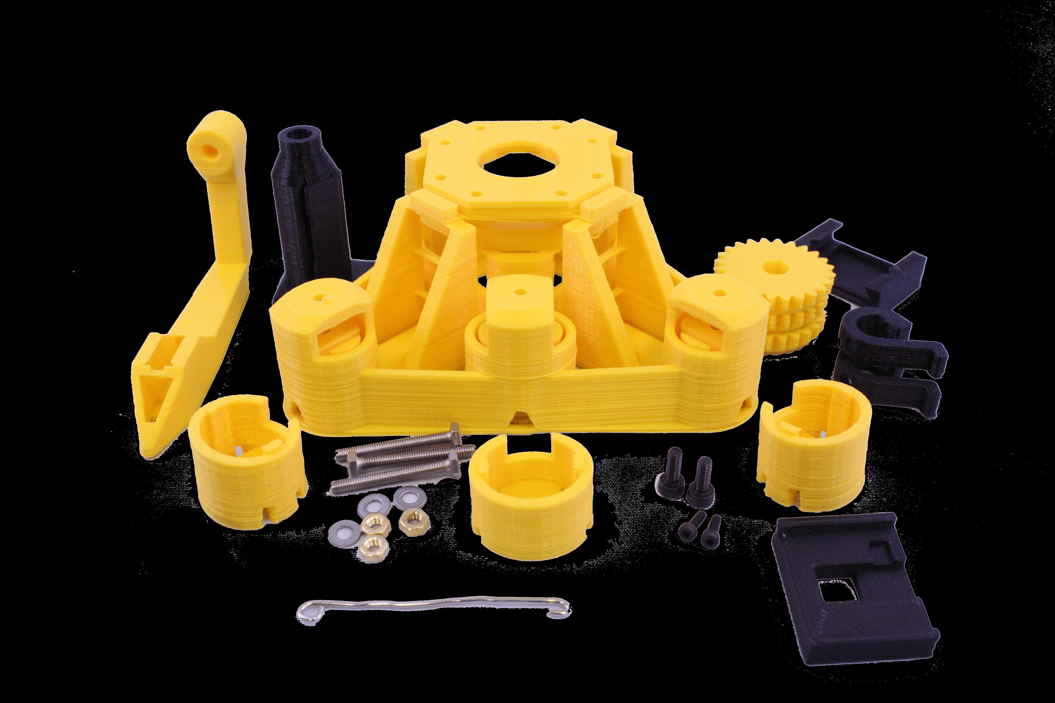 waterscope yellow microscope parts